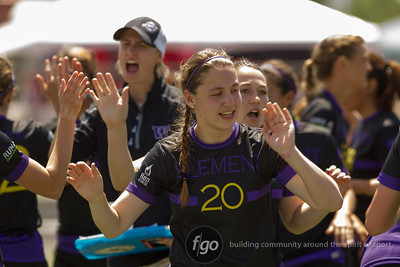 5-25-14 USA Ultimate D1 College Championships - Day 3 Women's Division Semi-Finals