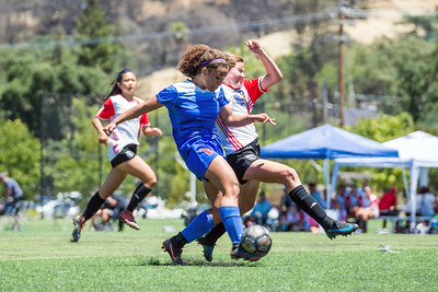 180610 - 03 Girls U16 - San Juan ECNL @ Earthquakes Academy