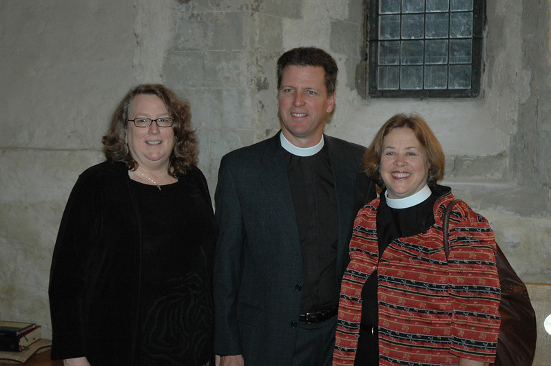 Three members of the ELCA Church Council are part of the 2010 Ecumenical Journey: From left, Deborah Chenoweth, Hood River, Ore.; The Rev. Steven Loy, Las Cruces, N.M.; and the Rev. Susan Langhauser, Olathe, Kan.