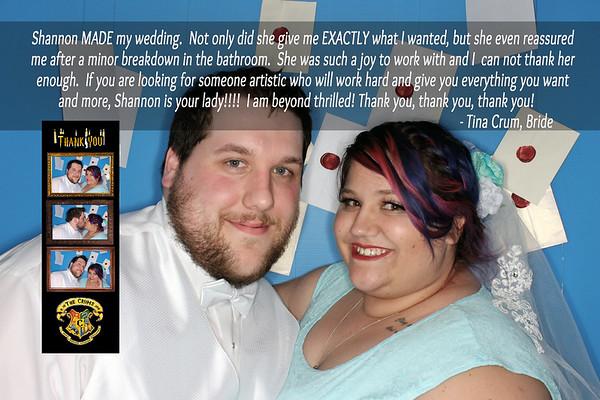 Photo Booth Reviews Tina & Kody