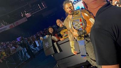 Roman Reigns - Fan Candids / WWE Live Charlotte (Aug. 14. 2021)