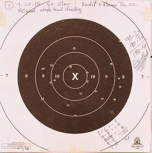 Pistol Range 9-20-15