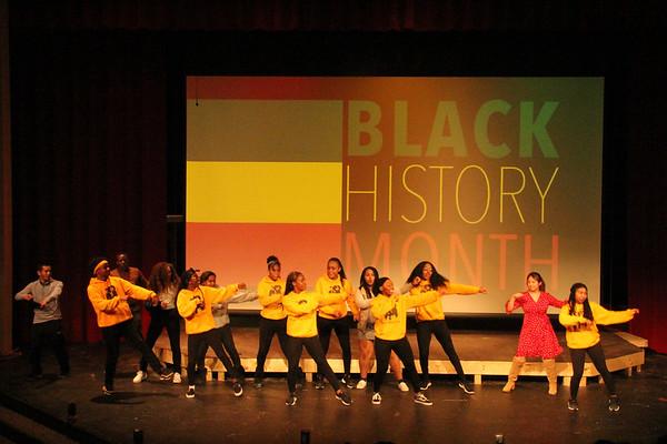 Black Student Union All-School Meeting 2020
