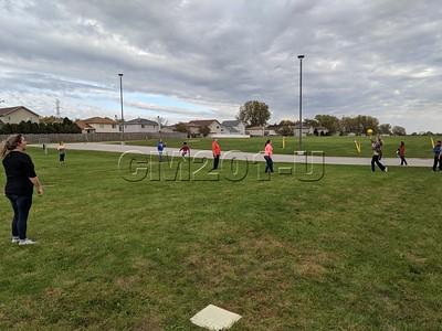 Kickball intramural game vs. teachers 10.23.19
