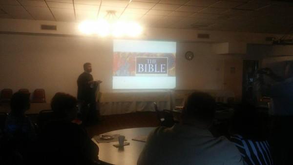 Fr. Mesrop 's Lecture
