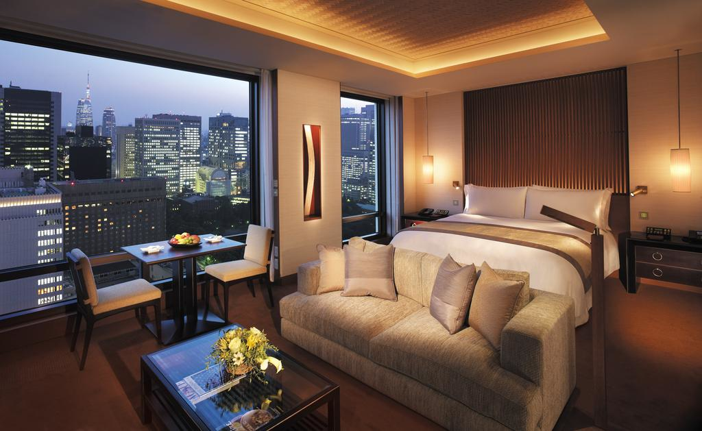 The Peninsula Tokyo guest room
