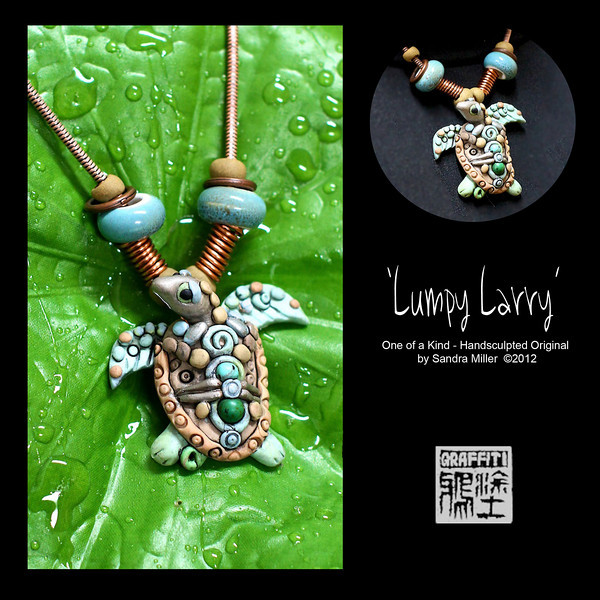 LUMPY LARRY TURTLE NECKLACE