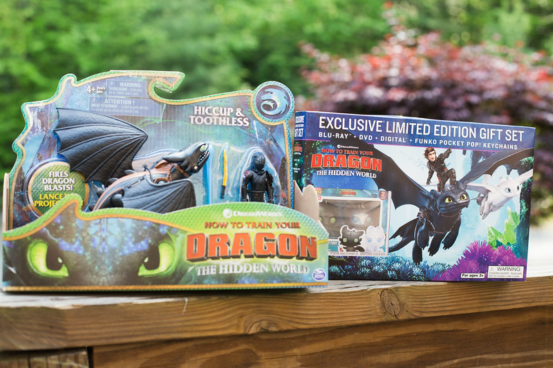 How to Train Your Dragon 3 Walmart Exclusive DVD Gift Set from Walmart