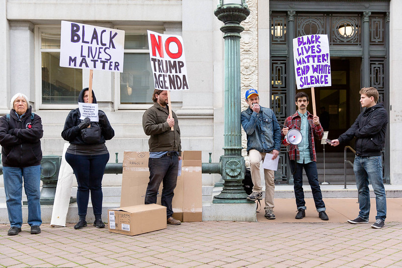 20170117 - T48A9468 -Reclaim MLK 120 Hours SURJ Expose Libby Schaff's Racism, Reject the Trump Agenda in Oakland - photographed by Sam Breach 2017 - 1080 short edge.jpg