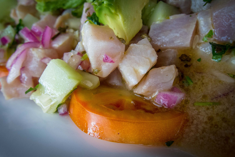 Yummy!  More ceviche!