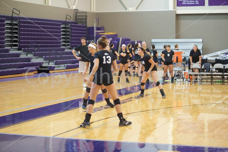 2017 BU volleyball Scrimmages
