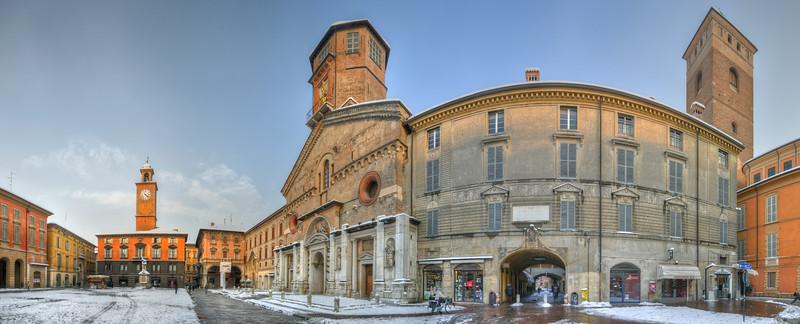 Piazza Prampolini - Reggio Emilia, Italy - February 2, 2012