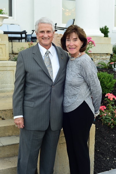 Tom and Ann Rust, Cocktails at Selma Mansion, June 7, 2018, Nancy Milburn Kleck