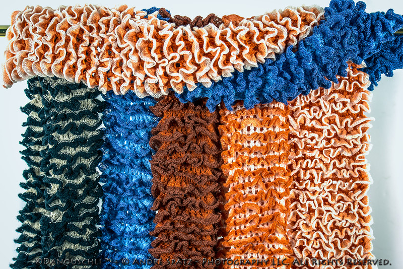 Knitted Scarves and Gloves