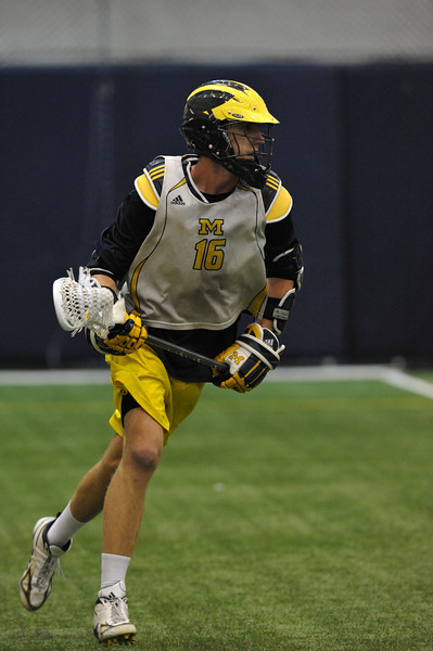 Michigan vs GVSU Scrimmage 10-213-10