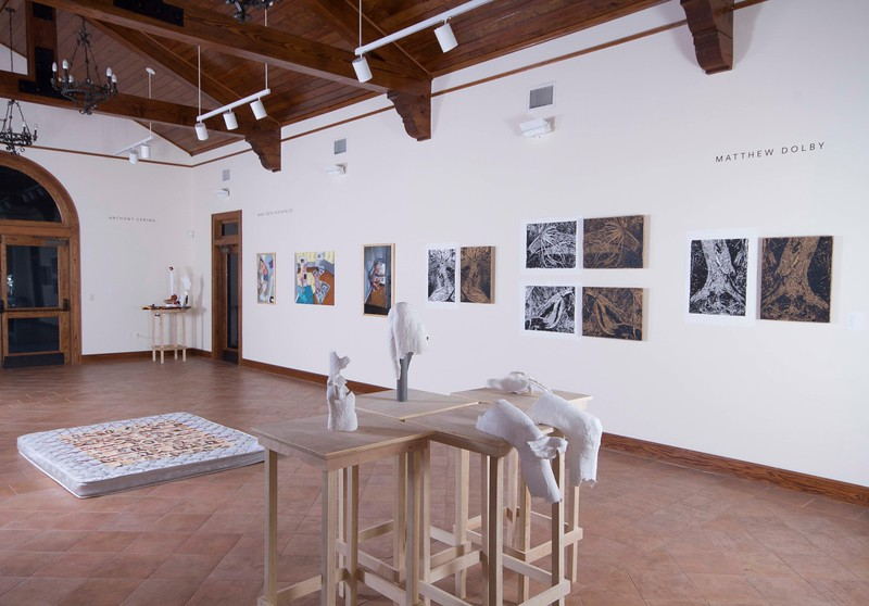BFA & BA Senior Portfolio Exhibition Fall 2016, Installation View