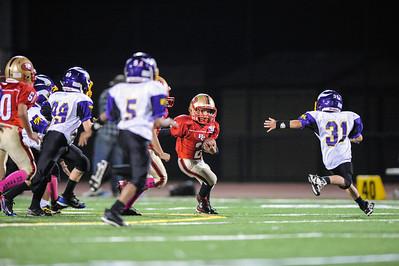 Redwood City 49ers vs. Menlo Atherton Vikings Pop Warner Mitey Mites, 2012-11-02