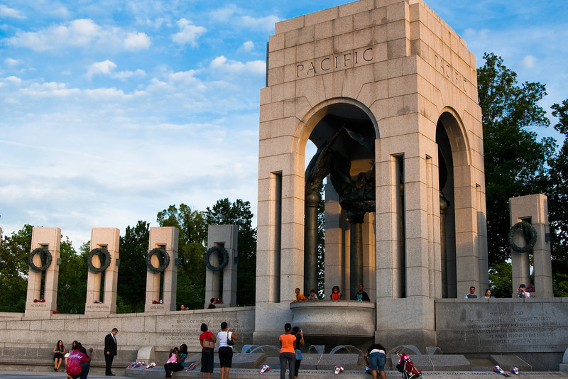 World War II memorial. (c) Vikas Patel. All Rights Reserved.