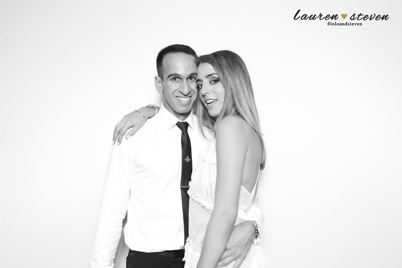 Lauren and Steven's Engagement Party (BW SkinGlow Booth)