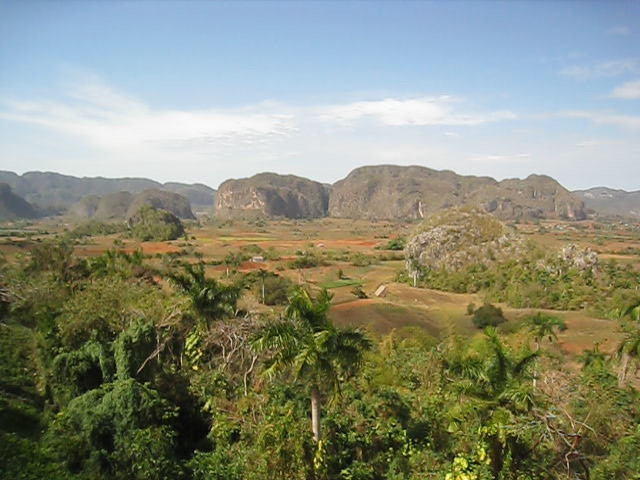 Vinales - view of the mogotes