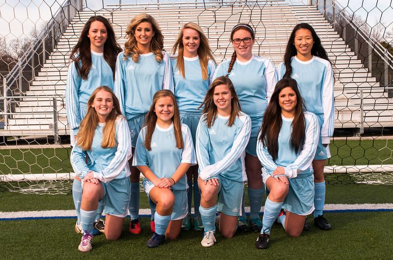 2014 Lady Bruin Soccer