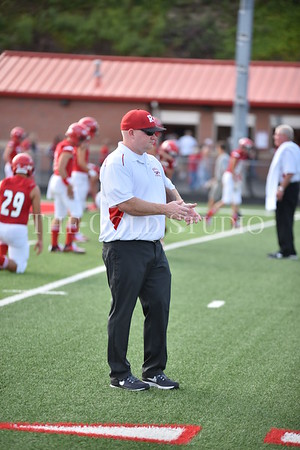 Minford(22) at Rock Hill (21) FB 8-25-2017