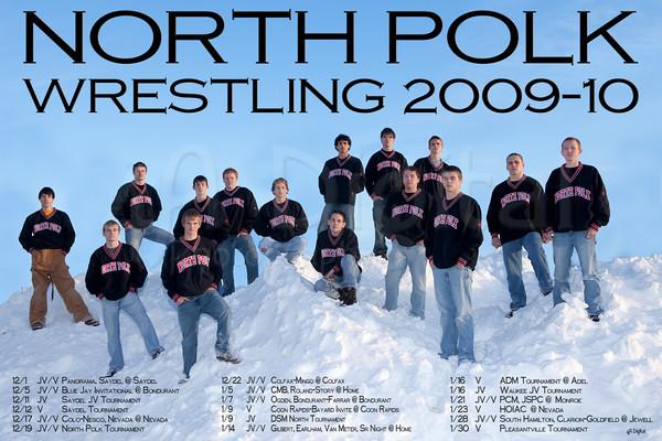 2010 Wrestling Poster