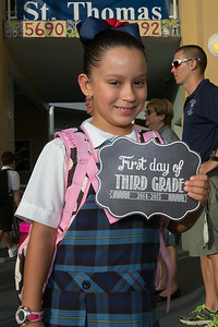 First Day of School - August 18, 2014