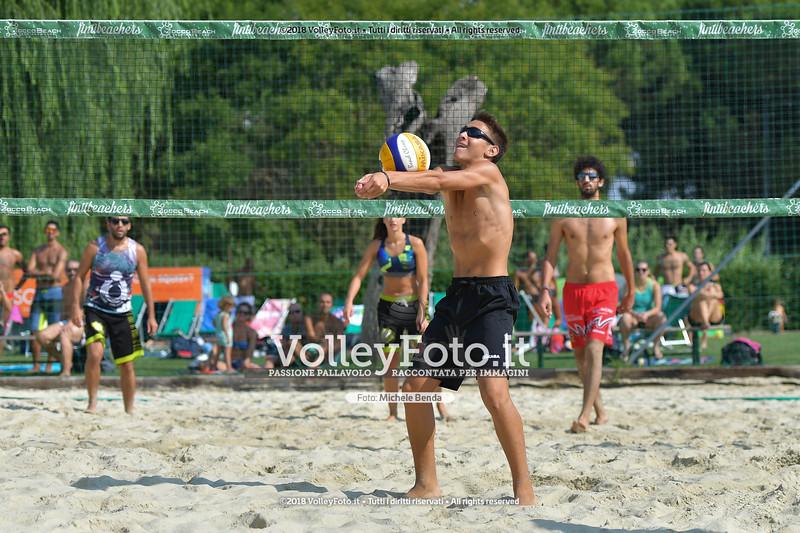 presso Zocco Beach PERUGIA , 25 agosto 2018 - Foto di Michele Benda per VolleyFoto [Riferimento file: 2018-08-25/ND5_8445]