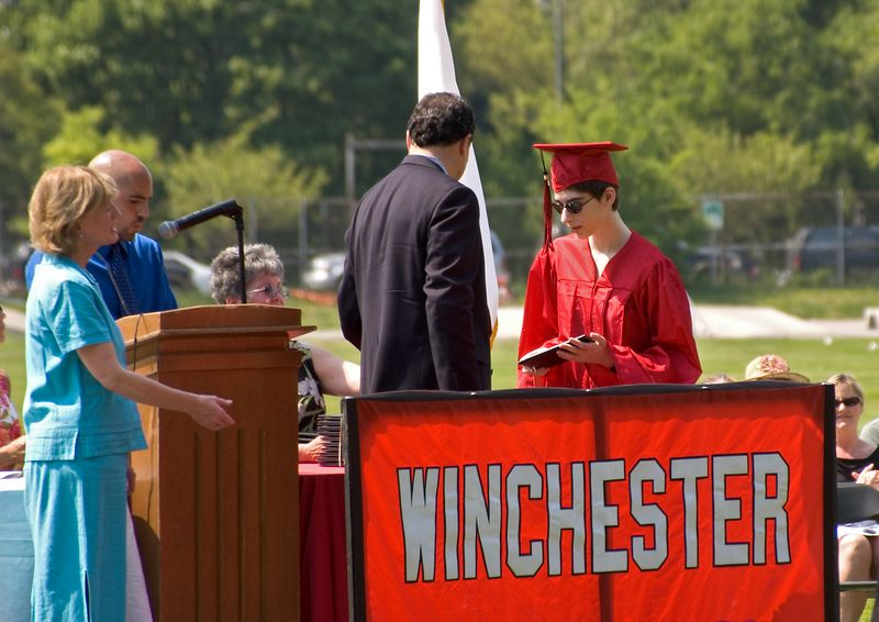 Beth receives her diploma   (Jun 05, 2005, 01:58pm)