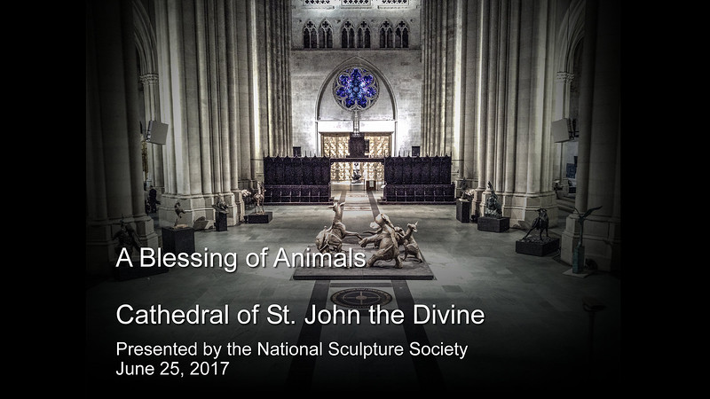 A Blessing of Animals Exhibit