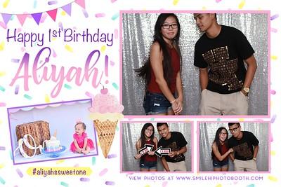 Aliyah's 1st Birthday