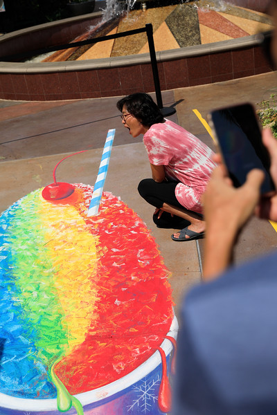 Cerritos Towne Center - Chalk It Up event - Aug 11, 2018