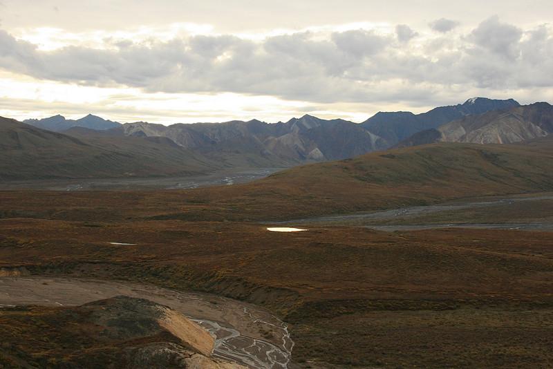 Polychrome Mountains, Denali National Park, Alaska.