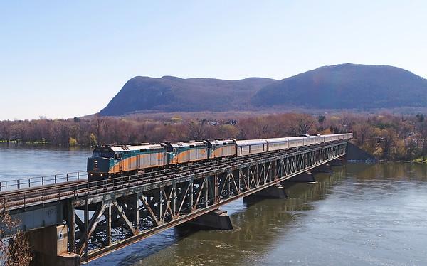 VIA Rail Ocean, Beloeil, Quebec, May 6 2019.