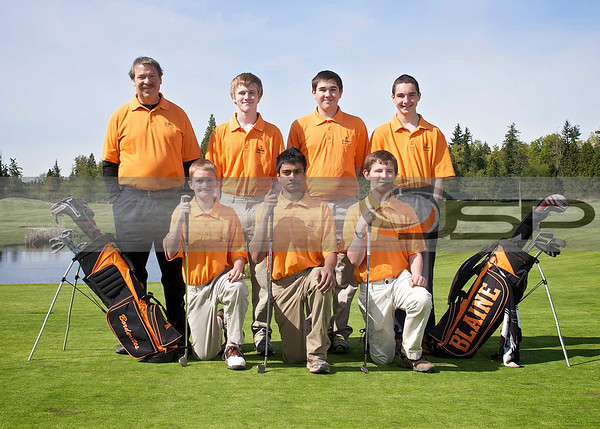 2013 Blaine High School Golf