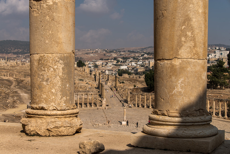 The Forum. Jerash, Jordan.