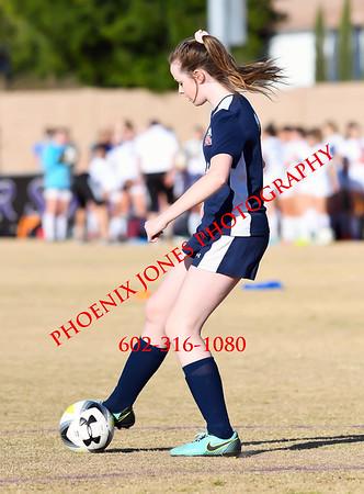 1-25-18 - Anthem Prep @ Northwest Christian - Girls Soccer