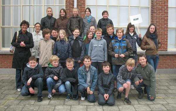 Bezoek middelbare school Oosterwijk, 6de