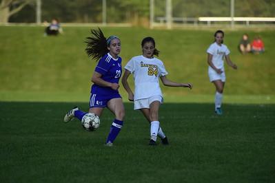 U-32 vs Harwood girls soccer