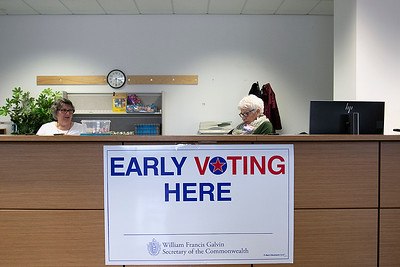 Early Voting in Fitchburg, Feb. 25, 2020