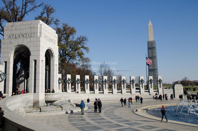 The U.S. National World War II Memorial