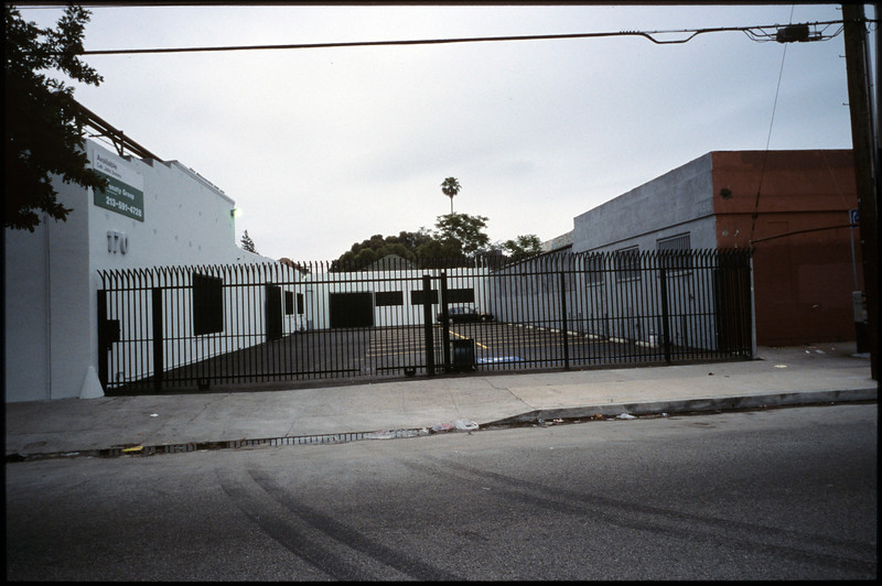 Industrial buildings along East Jefferson Boulevard, Los Angeles, 2005