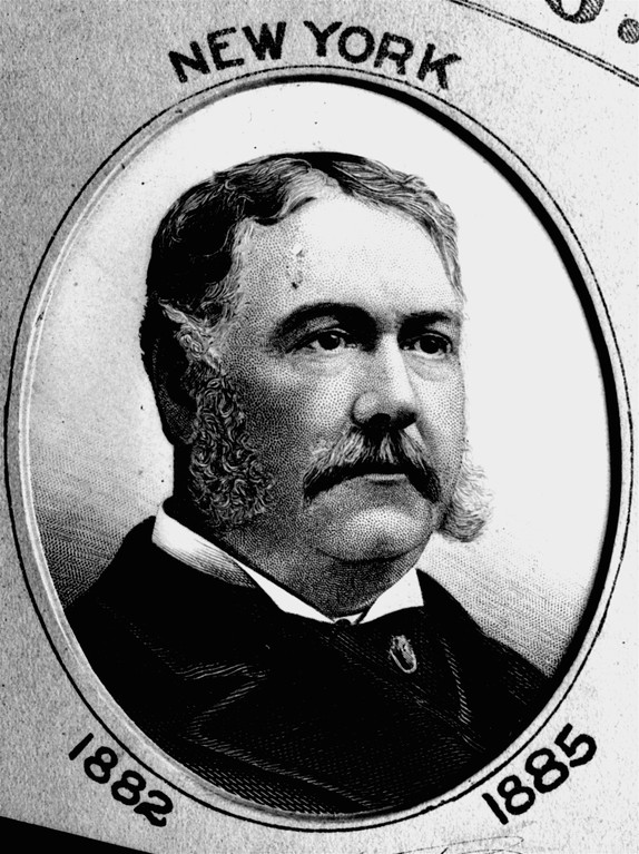 . This is an undated portrait of Chester Alan Arthur, 21st president of the U.S., from 1881 to 1885. (AP Photo)