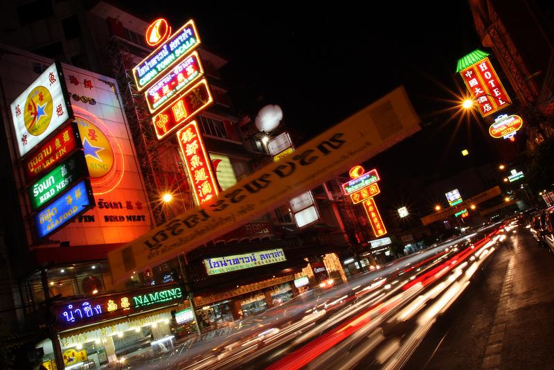 Thanon Yaowarat, Bangkok, Thailand
