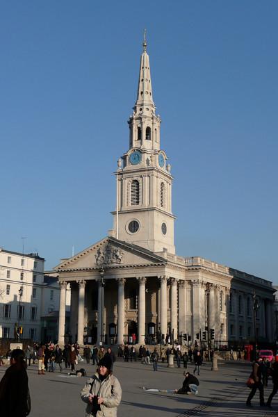 St. Martin-in-the-Fields Church. London