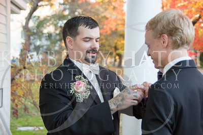 Groom Pre-Ceremony- Dunphy Wedding, Deerfield Inn