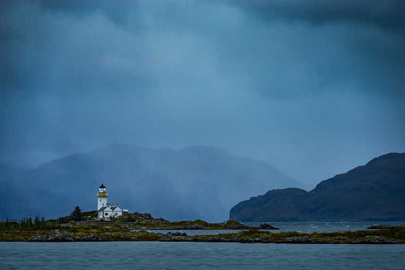 Isleornsay Lighthouse, Scotland