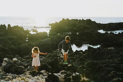 Lizanne + Ohana //Mauna Kea Beach Resort