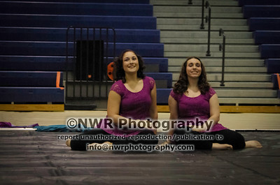 East Rockingham HS Winterguard